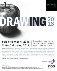 John B Aird Gallery Drawing 2016
